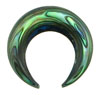 Large Gauge Abalone Shell Septum Pincher (SKU: ASP)