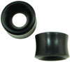 Large Gauge Ebony Wood Hollow Tunnel Saddle Plugs (SKU: AWT)