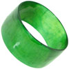 Dyed Green African Cow Horn Bangle Bracelet (SKU: B31)