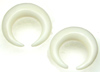 Large Gauge Bone Captive Hoops (SKU: BCBR)