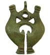Filipino Tribal Brass Pendant (SKU: DBP-7)