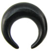 Large Gauge Ebony Wood Septum Pincher (SKU: ESP)