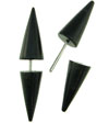 Horn Spiked Fakie Earrings (SKU: HFS)