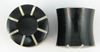 Hollow Horn Striped Saddle Plugs (SKU: HHSSTP)