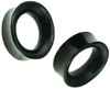 Hollow Horn Oval Plugs, 1 inch (SKU: HOT)