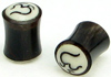 Horn Saddle Ohm Plugs (SKU: HPBIW)