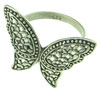 Sterling Silver Butterfly Ring, Adjustable Size (SKU: R36)