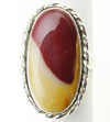 Sterling Silver Mookaite Stone Ring (SKU: RM)