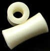 Large Gauge Hollow Bone Saddle Plugs (SKU: BHS)