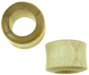 Large Gauge Crocodile Wood Hollow Tunnel Saddle Plugs (SKU: CWT)