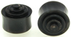 Solid Horn Lathed Saddle Plugs, 7/8 inch (SKU: HLS-78)