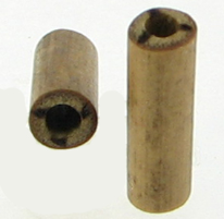 Bamboo Cylinder Gauge Plugs, Burnt 3 Lines Designs