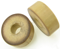 Thick Walled Bamboo Cylinder Plugs