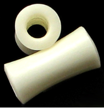 Large Gauge Hollow Bone Saddle Plugs