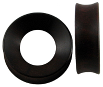 Bloodwood Hardwood Tunnel Plugs, 1-3/4 inch