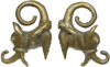 Dayak Brass Aso Dragon Ear Weights
