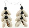 Matching Cowrie Shell Earrings
