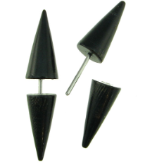 Horn Spiked Fakie Earrings