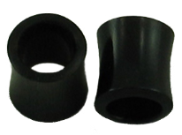 Large Gauge Hollow Horn Saddle Plugs
