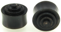 Solid Horn Lathed Saddle Plugs, 7/8 inch