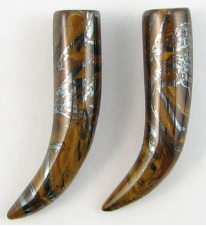 Large Gauge Tiger's Iron Stone Talons
