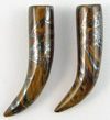 Tiger's Iron Stone Talons, pair, 0 gauge and 1 gauge