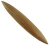 "5/8"" Sawo Wood Long Straight Septum Spike"