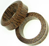 2 inch Hollow Coconut Wood Saddle Plugs