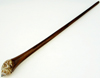 Areng Wood Hair Stick with Brown Sea Shell (single)