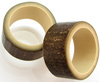 1 inch Black Bamboo Plugs