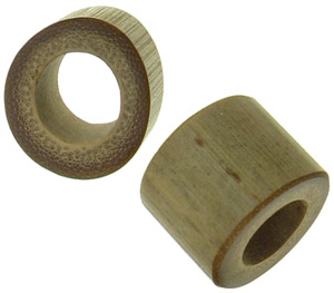 "5/8"" Oval Bamboo Plugs"