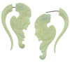 Bone Fakie Geisha Earrings