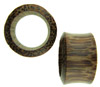 7/8 inch Hollow Coconut Wood Saddle Plugs