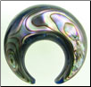 Large Gauge Abalone Shell Septum Ring (SKU: ASR)