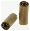 Large Gauge Bamboo Cylinder Plugs, Burnt Dots Designs (SKU: BCP-B3)