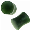 Large Gauge Siberian Jade Saddle Plugs (SKU: JSS)