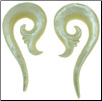 Jarod ordered Mother of Pearl Shell Sprouting Spiral Earrings for his girlfriend.