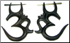 Breony ordered a variety of thorn style earrings and small gauge horn earrings