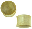 Large Gauge Crocodile Wood Saddle Plugs (SKU: CW)