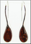Shannon purchased 00 gauge Baltic Amber Saddles for stretched piercings and Sterling Silver & Cognac Baltic Amber Teardrop Earrings for regular pierced ears.