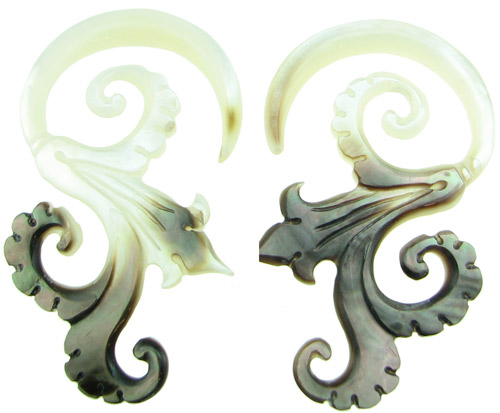 Hook Mother of Pearl Mother of Pearl Spiral